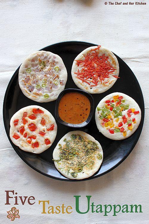 five taste uthappam