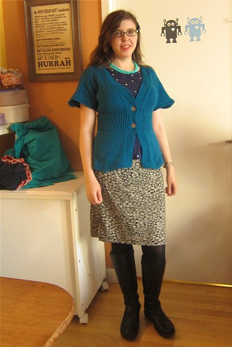Me Made May 15: Flutter Sleeves