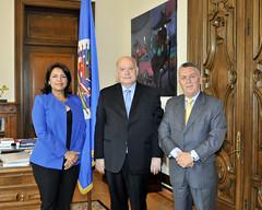 13May15 Secretary General Receives Member of the National Council of Ecuador