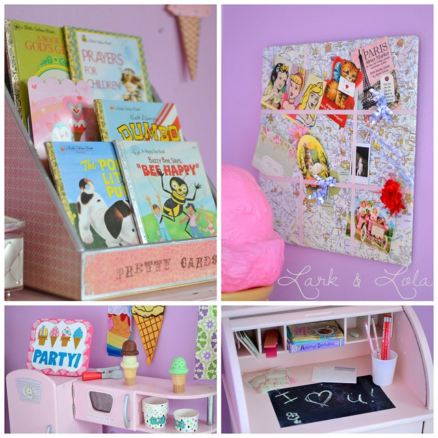 Eisley's room collage