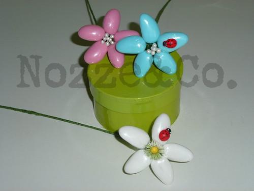 fiori confetti nascita