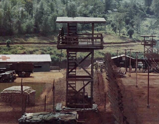 Prisoners of War Camp - Pleiku 1968