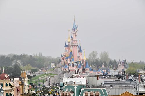 Vistas desde la terraza de la Suite Cinderella