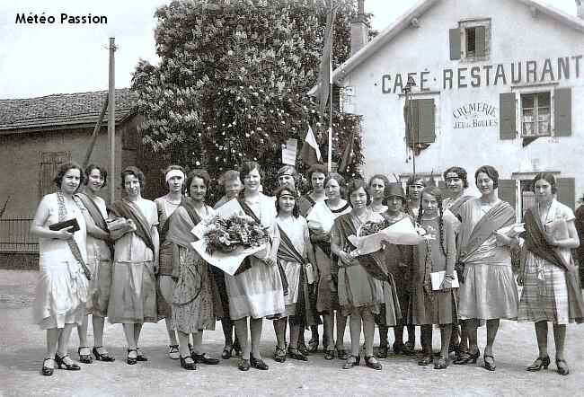 fête de la Fédération près de Genève le 9 mai 1926 météopassion