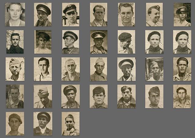 Rostros de la 24º Brigada Mixta.