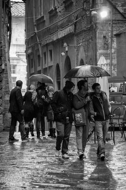 Rainy Streets - Perugia, Italy