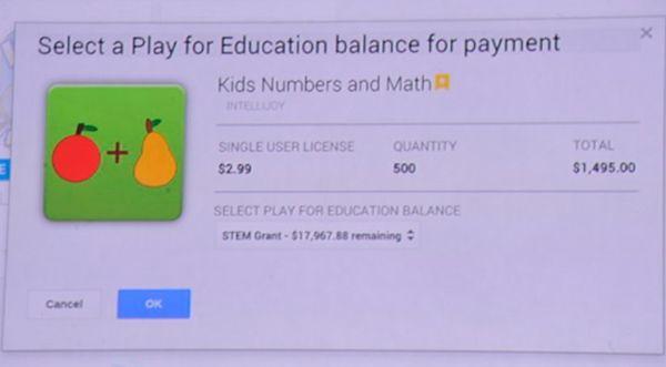 Google Play для образования