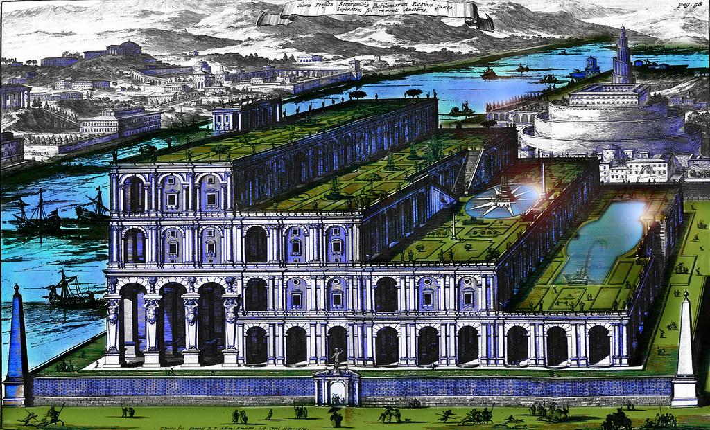 Jardines colgantes de babilonia sistema de museos virtuales for Jardines colgantes de babilonia