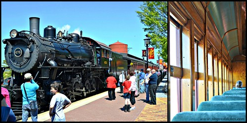 Strasburg Rail Road Collage