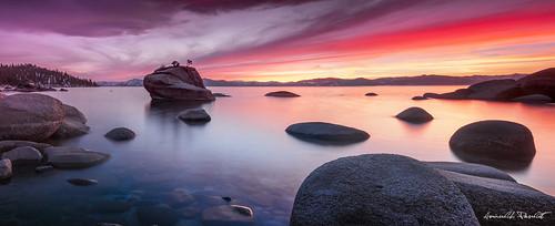 Tahoe Sunset Panorama