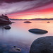Tahoe Sunset Panorama by PhotoPandit