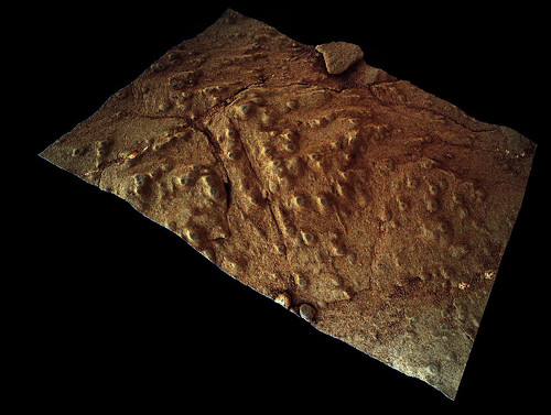 Curiosity sol 275 MAHLI 3d - Cumberland patch