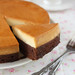 Chocolate coffee gateau & Flan (Creme Caramel)