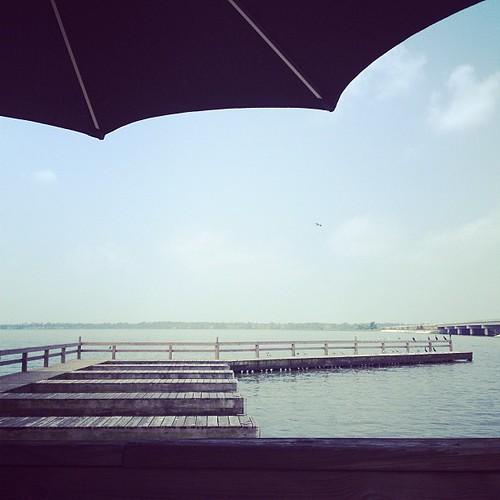 A beautiful day on Lake Houston.