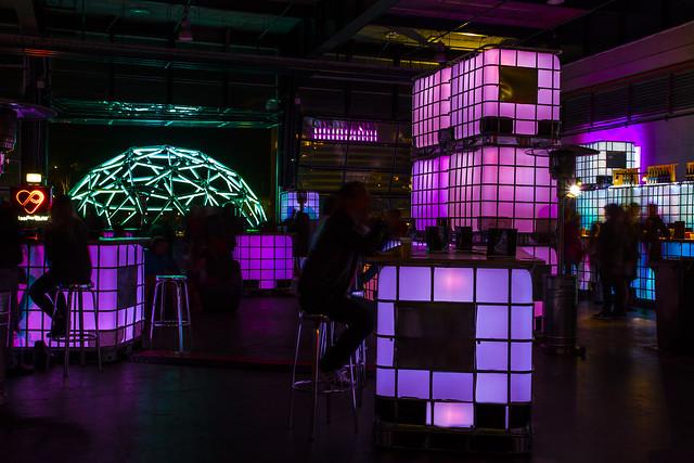 Bar at Vivid Light Festival