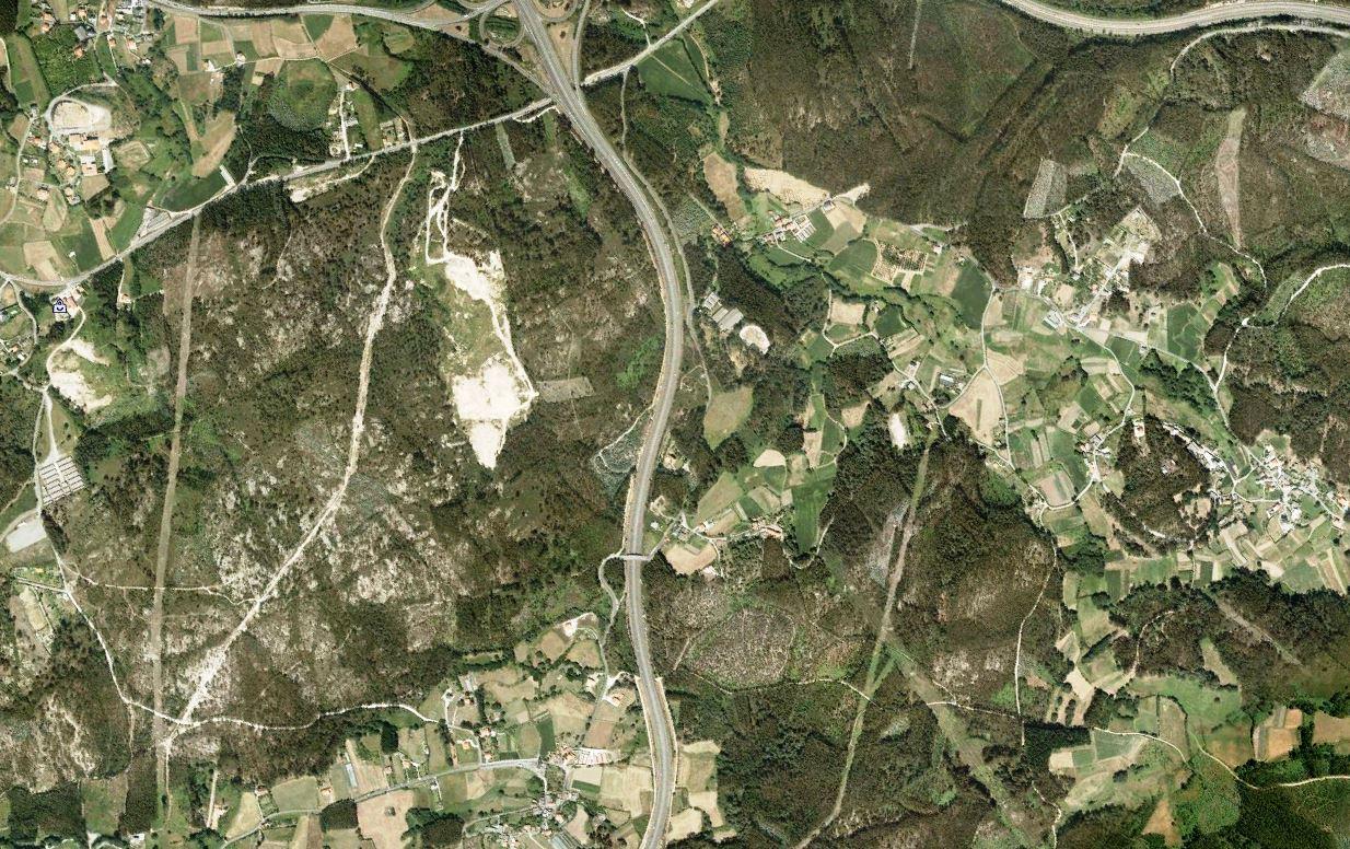 antes, urbanismo, foto aérea, desastre, urbanístico, planeamiento, urbano, construcción,Jove, Lugo
