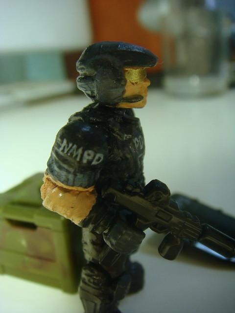 NMPD Police with riot shield! 9089776735_1685e8642f_z