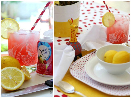 Hi Sugarplum | Cheery Summer Table