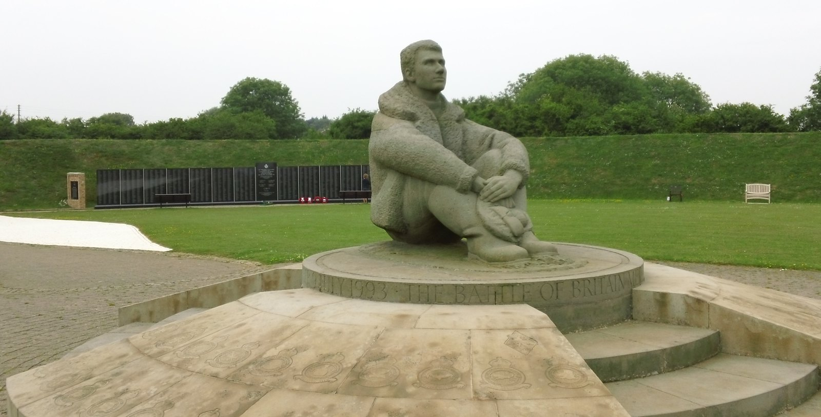 FOLKSTONE Battle of Britain cliff-top memorial MEMORIAL commemorates not only the fallen but those who survived, including Douglas Bader, Max Aitken and my old English teacher, Mr Maguire.