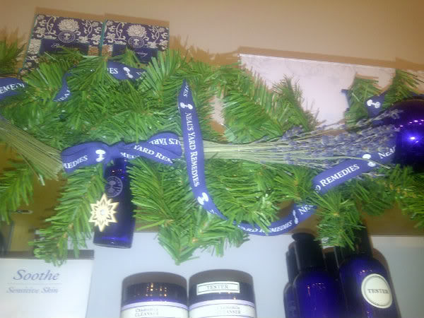 Neals Yard Remedies Event, Glasgow