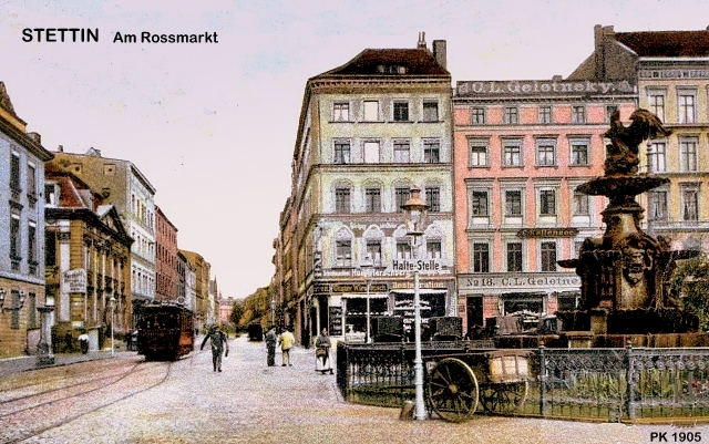 Stettin   Roßmarkt; 1905