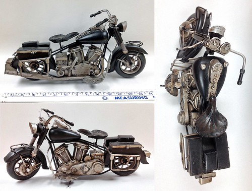 Harley-Davidson sculpture