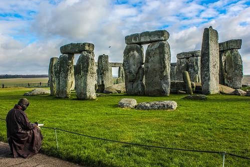 Un vividor en el Stonehenge