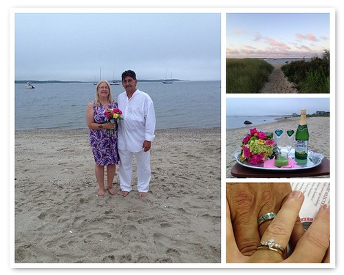 barefoot beach wedding!