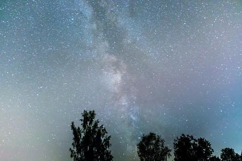 Milchstraße über Treuen