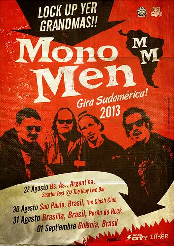 The Mono Men, gira Sudamérica 2013!