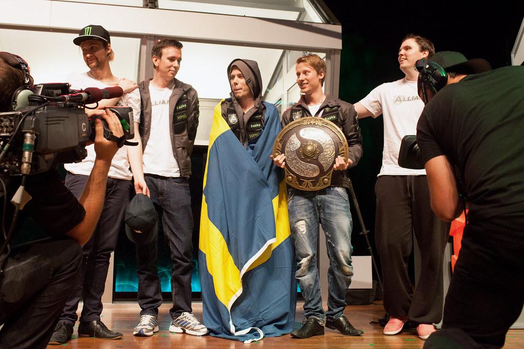 Alliance - победители The International3 | Dota 2