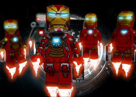 LEGO Iron Man 3 Upgraded Heartbraker Suit | Flickr - Photo ... Lego Iron Man 3 Suits
