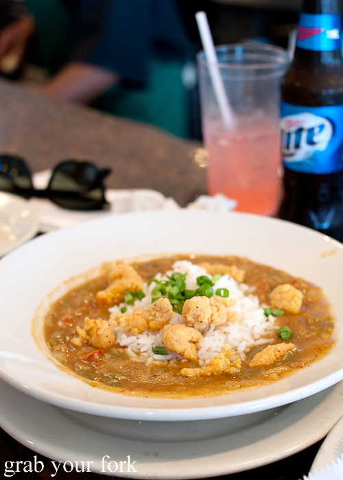 crawfish etouffee at felix's restaurant and oyster bar new orleans louisiana