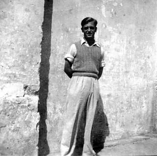 Maroc, Casablanca, octobre 1945, Georges, 16 ans