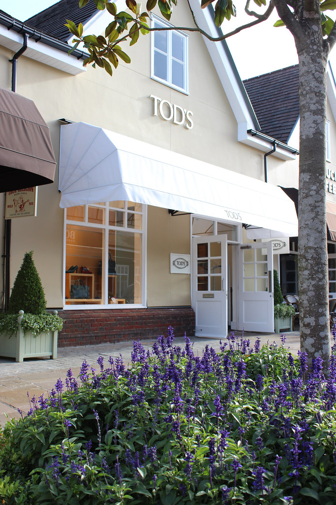 Bicester Village shops Tods