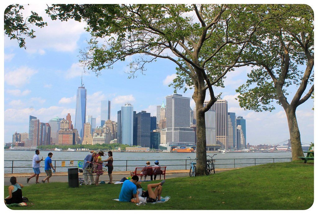 governors island view