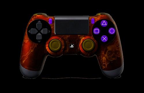 PS4Controller-OrangeZombieHazard