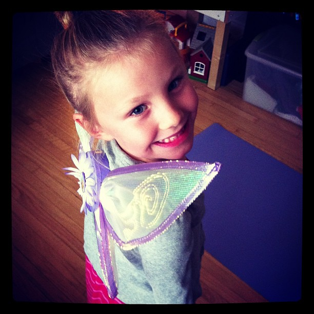 Watching 'Secret of the Wings' and thinking if her fairy sister #tinkerbell #periwinkle