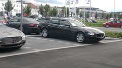 bmw(0.0), sports car(0.0), automobile(1.0), automotive exterior(1.0), maserati(1.0), executive car(1.0), wheel(1.0), vehicle(1.0), performance car(1.0), automotive design(1.0), sports sedan(1.0), maserati quattroporte(1.0), bumper(1.0), sedan(1.0), personal luxury car(1.0), land vehicle(1.0), luxury vehicle(1.0), supercar(1.0),