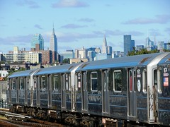 R-62A Subway Cars #1671-1674 - IRT Flushing Line