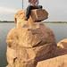 Top of the Ameenpur Lake