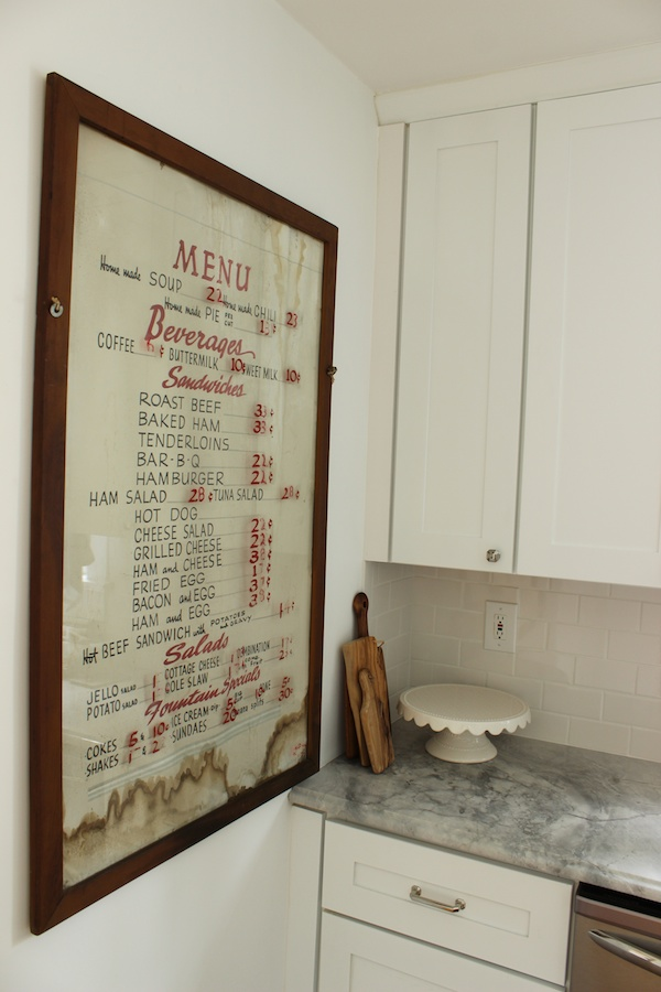 Kitchen Menu 3