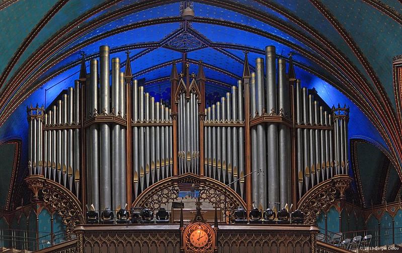 Motreal Notre Dame pipe organ