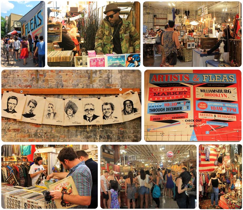 Artists & Fleas Williamsburg Brooklyn