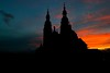 Silhouette of Cathedral Fulda