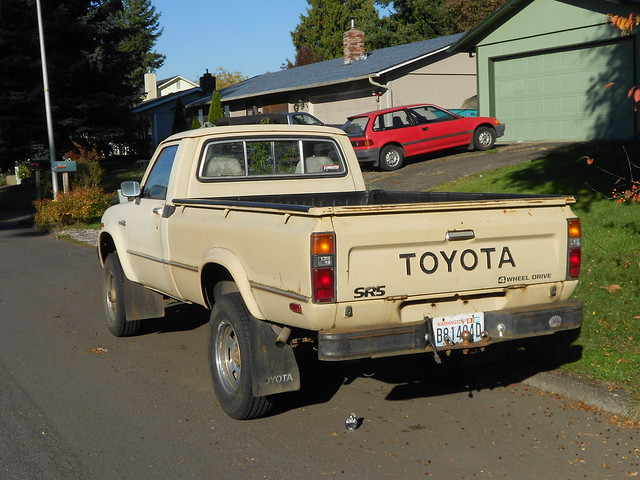 toyota sr5 truck vintage classic flickr photo sharing