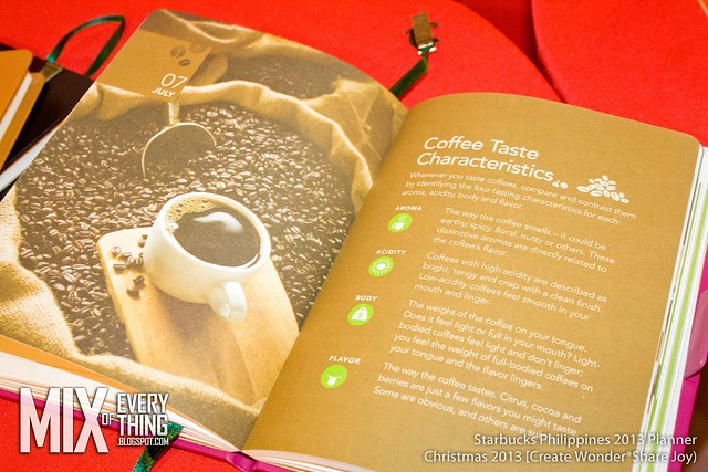 Starbucks Philippines 2014 Planners
