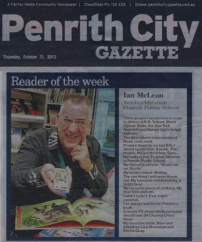 Reader of the Week, Penrith City Gazette