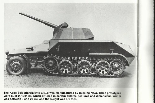 Sd.Kfz.251 7.5cm Selbstfahrlafette L40.8 Bussing-NAG