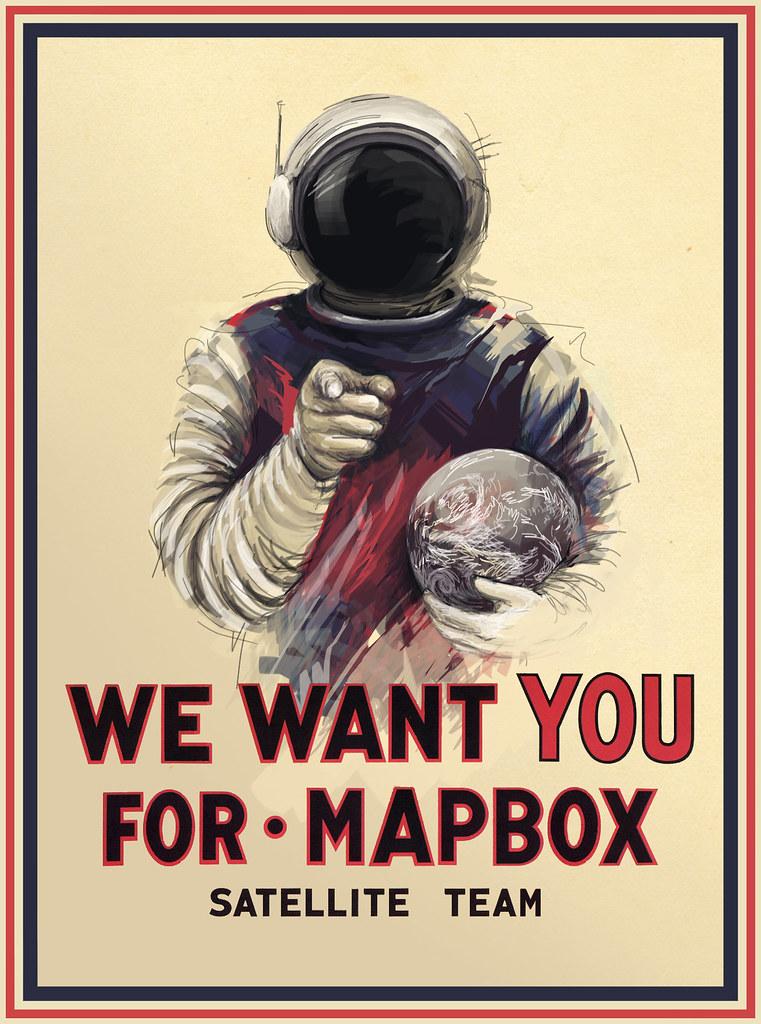 Growing @MapBox Satellite